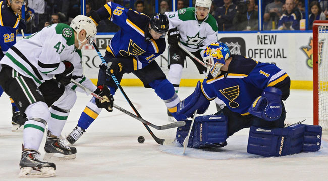 LIVE: Stars-Blues, Game 3