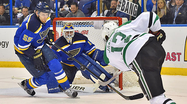 LIVE: Stars-Blues, Game 4