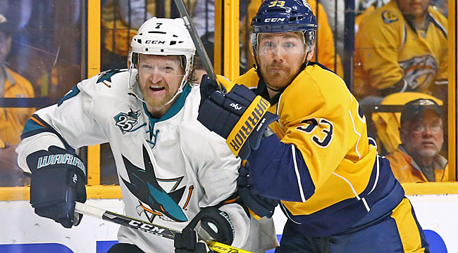 LIVE: Sharks-Preds, Game 4
