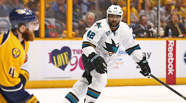 LIVE: Sharks-Predators (OT)