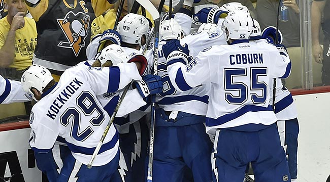 Lightning win in overtime