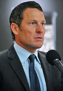 Without government intervention, Lance Armstrong will continue to fade from public view. (Getty Images)