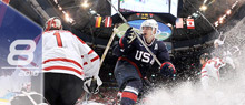 USA's Dustin Brown. (Getty Images)