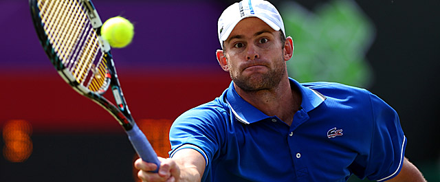 Roddick dominated opponent Martin Klizan with his serve on Monday. (Getty Images)