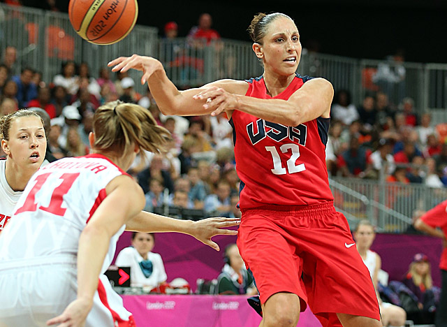 Taurasi helps the U.S. rally from a 2-point first-quarter deficit with a 20-point effort. (Getty Images)