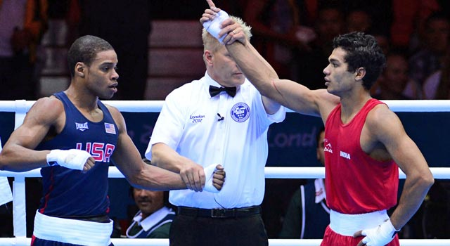 Errol Spence initially loses to India's Krishan Vikas but receives better news a few hours later. (US Presswire)