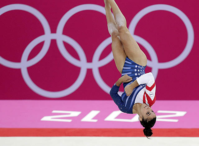 U.S. captain Aly Raisman adds to her personal medal count with a gold in the floor exercise. (Getty Images)