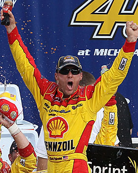 Kevin Harvick has put together three winning races this year. (Getty Images)