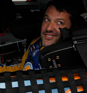 Tony Stewart says 'it doesn't matter who it is ... if they block me, they will suffer the consequences.' (Getty Images)