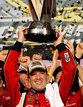 Tony Stewart is only the second driver/owner to win the Cup trophy. (Getty Images)