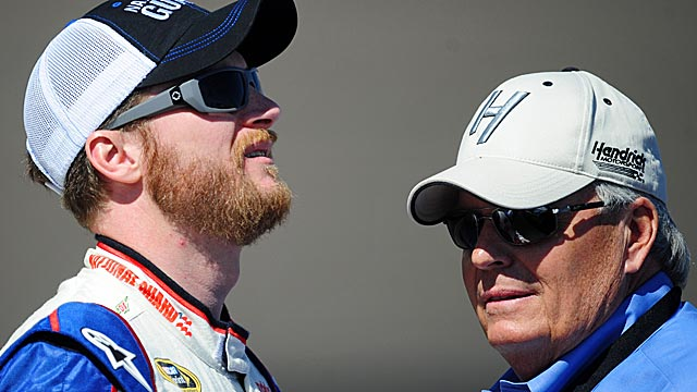 Dale Earnhardt Jr. has accepted responsibility for taking out teammate Jeff Gordon at Bristol. (US Presswire)