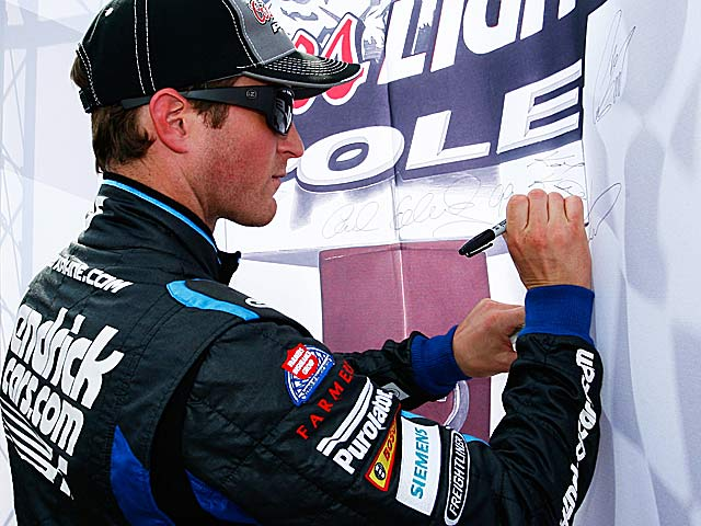 Kasey Kahne, the only two-time pole winner this season, is hoping for his first win with Hendrick. (Getty Images)