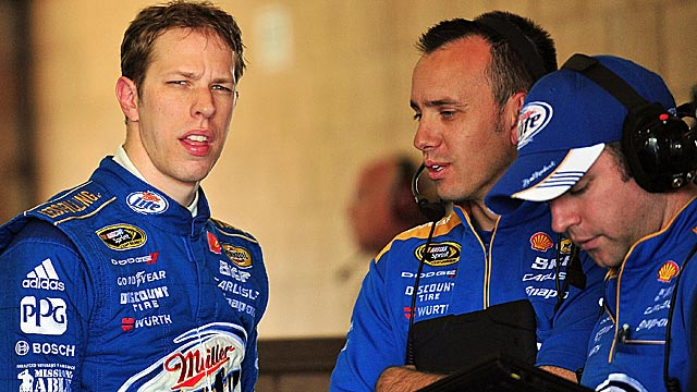 Brad Keselowski says he aims to be better every day than he was the day before. (US Presswire)