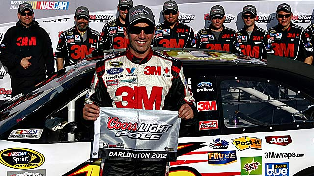Greg Biffle shoots for his third Darlington win after victories in 2005 and '06. (US Presswire)