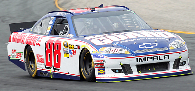 The House's decision means Earnhardt will keep one of his main sponsors. (US Presswire)