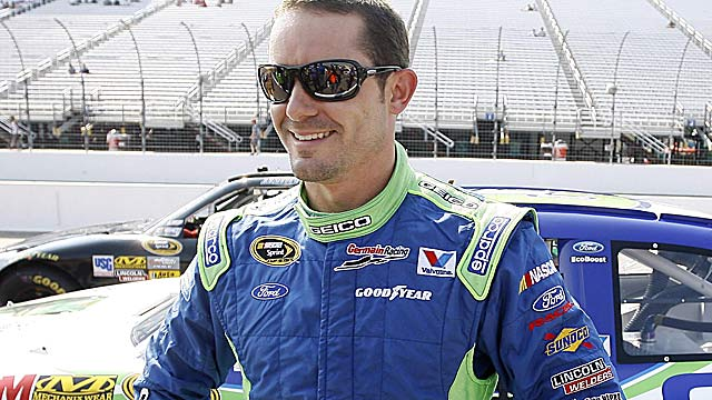 By virtue of his first practice speed, Casey Mears will have the No. 1 starting position at Bristol. (US Presswire)