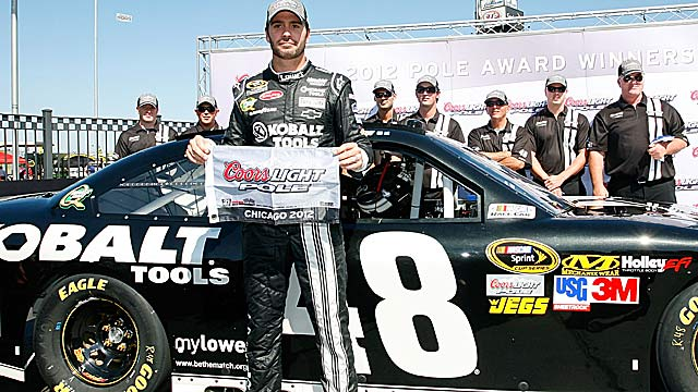 Jimmie Johnson is well positioned to get his first Cup win at Chicagoland. (Getty Images)