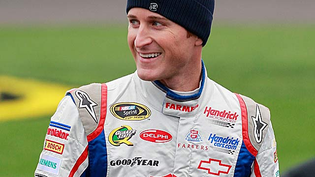 Kasey Kahne -- 35 points back in the Chase -- is seeking his first victory at Kansas. (Getty Images)