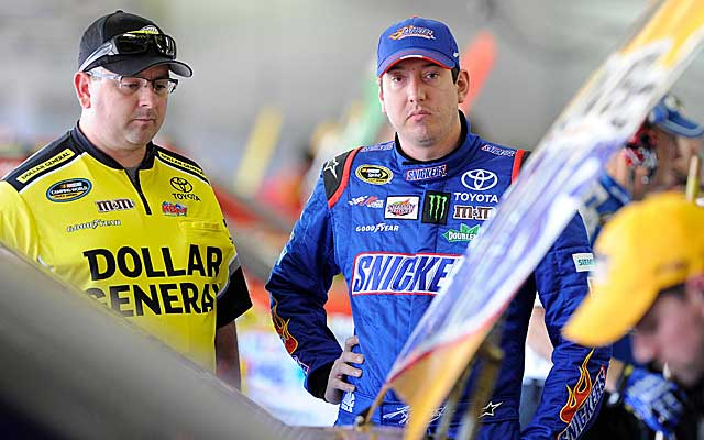Kyle Busch is out of title contention, but has his team headed toward a big 2013. (US Presswire)