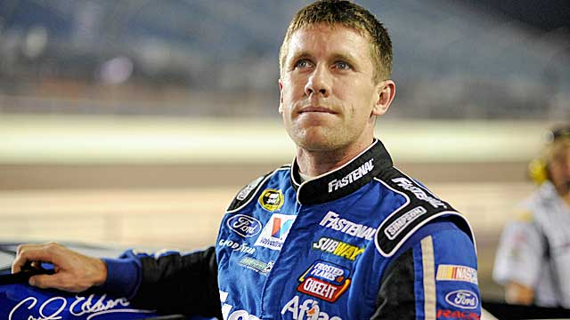 Edwards' disappointing 2012 included no wins and just three finishes in the top five. (US Presswire)