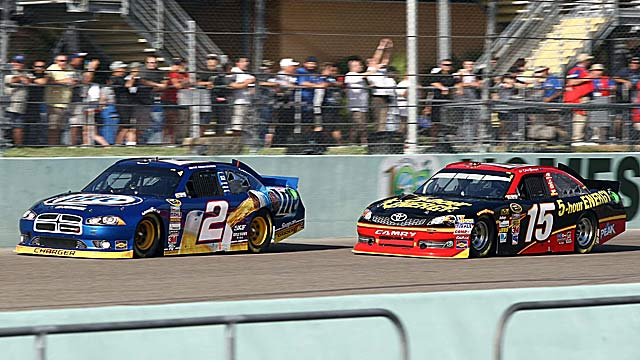 Champ Brad Keselowski and runner-up Clint Bowyer won't be in this year's Sprint Unlimited. (US Presswire)