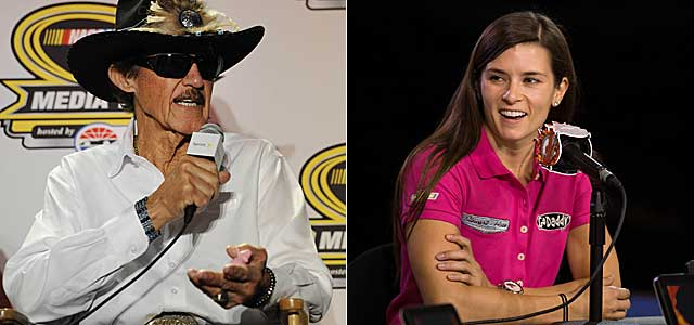 Richard Petty is not keen on Danica Patrick's Victory Lane chances. (USATSI)