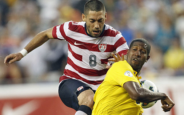 Clint Dempsey records his 26th goal for the U.S. national team on a penalty kick. (US Presswire)