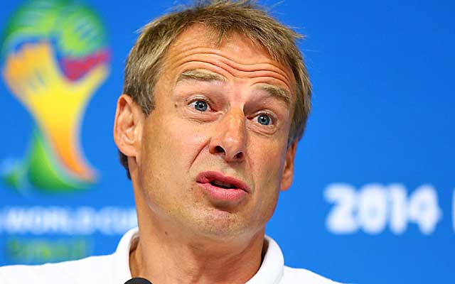 Jurgen Klinsmann says his US side is 'not made for ties.'  (USATSI)