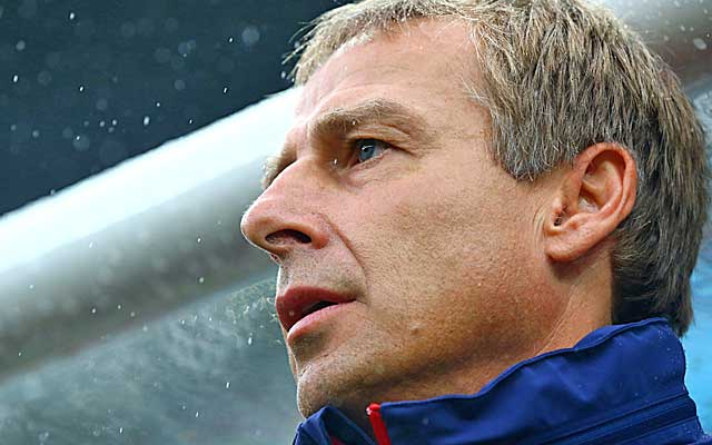 Jurgen Klinsmann has been masterful so far with his in-game tactics.  (USATSI)