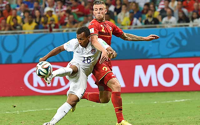 Julian Green looks like a future star for the US side.   (USATSI)
