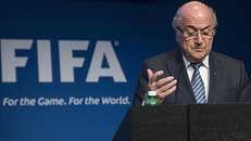 Blatter stepping down