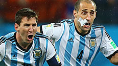 Argentina reaches WC final