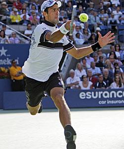 Novak Djokovic makes his third career Grand Slam final. (AP)