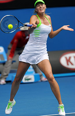 Maria Sharapova has a chance to take over the No. 1 ranking at the end of the two-week tournament. (Getty Images)