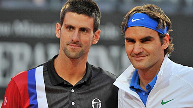 Federer bested Djokovic in an epic four-set semifinal in Paris last year. (Getty Images)