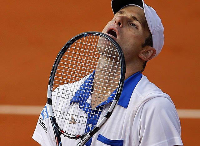 Roddick's exit Sunday, in the opening round at Roland Garros, is his first in a major since 2007. (Getty Images)