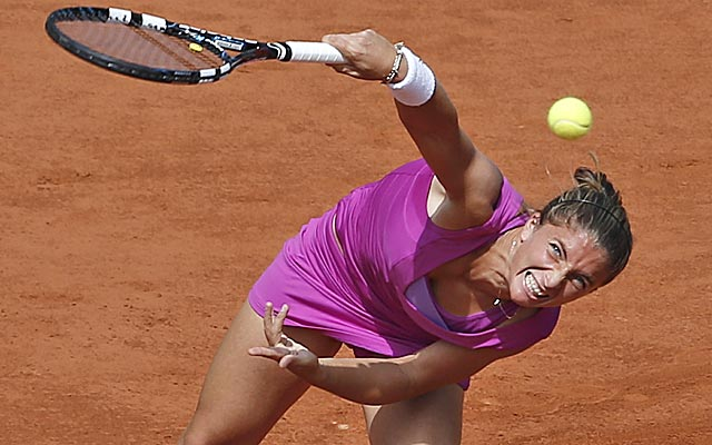 Errani claims her fourth straight win against a top-10 opponent. (Getty Images)