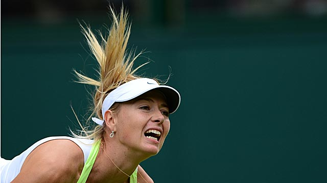 Maria Sharapova is one of many players known to assault the ears of spectators. (Getty Images)