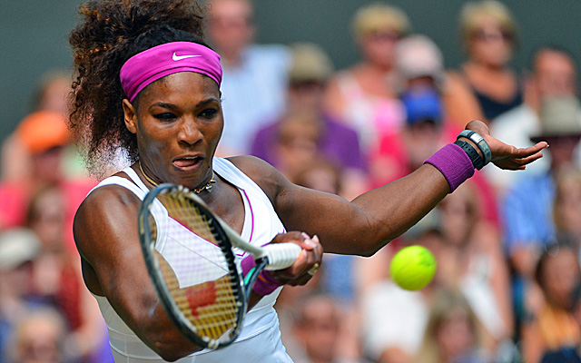 Williams earns her 18th Grand Slam final and can tie sister Venus with a fifth Wimbledon title. (Getty Images)