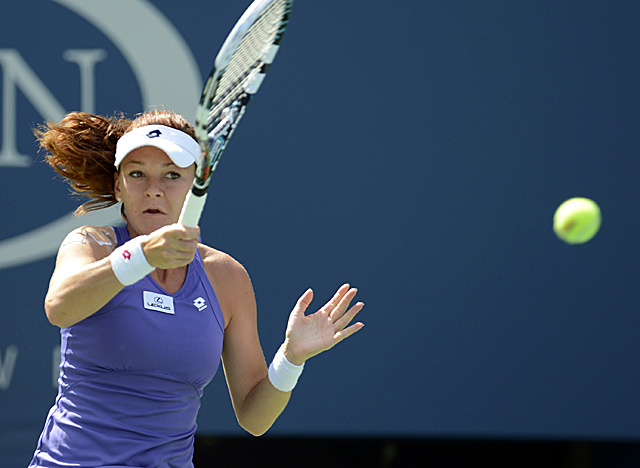 No. 2 seed Radwanska is still looking for her first Grand Slam title. (US Presswire)
