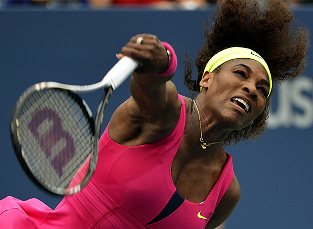 Williams whizzes through her fourth-round match vs. Andrea Hlavackova. (Getty Images)