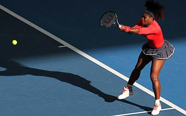 Williams takes less than an hour to beat her first opponent this season, Varvara Lepchenko. (AP)