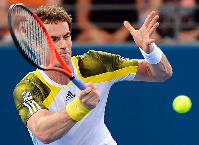 Murray attributes his ability to hold off Grigor Dimitrov to his newfound mental toughness. (Getty Images)