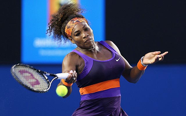 Serena Williams wins in 57 minutes and improves to 39-1 since the 2012 French Open. (Getty Images)