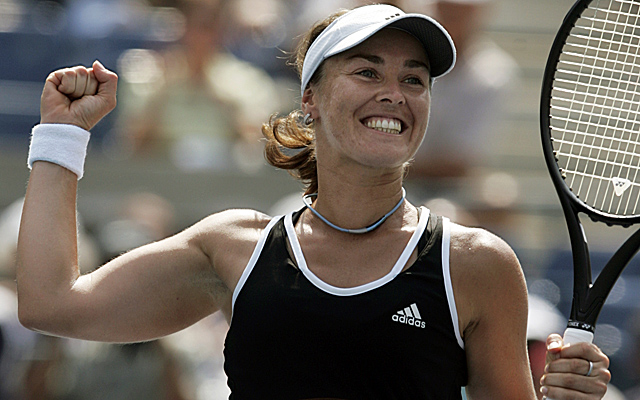 With 43 singles titles, 37 doubles and five major titles, Hingis is headed to the Hall of Fame. (AP)