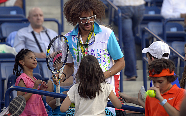 Redfoo, here at Indian Wells, will play under his real name, Stefan Gordy, in Salinas. (Getty Images)