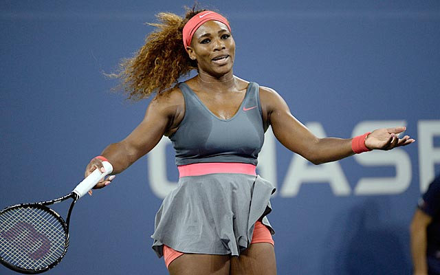 Serena Williams has little to complain about after her 52-minute whitewashing of Carla Suarez Navarro. (USATSI)