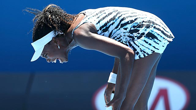 Venus Williams, 33, has failed to get past the third round in each of her past eight Grand Slams. (USATSI)