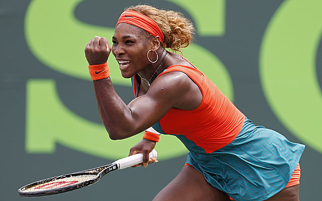 Serena Williams won in straight sets. (USATSI)