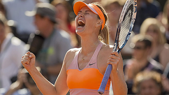 Maria Sharapova, the 2012 French Open champ, is in the title match for the third straight year. (USATSI)